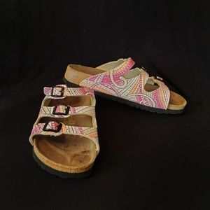 Birkenstock Papillio Florida Colorful Strap Sandal